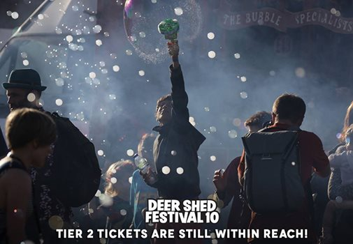 Tier 2 tickets to #DeerShed10 are definitely still within reach. Whilst we don't...
