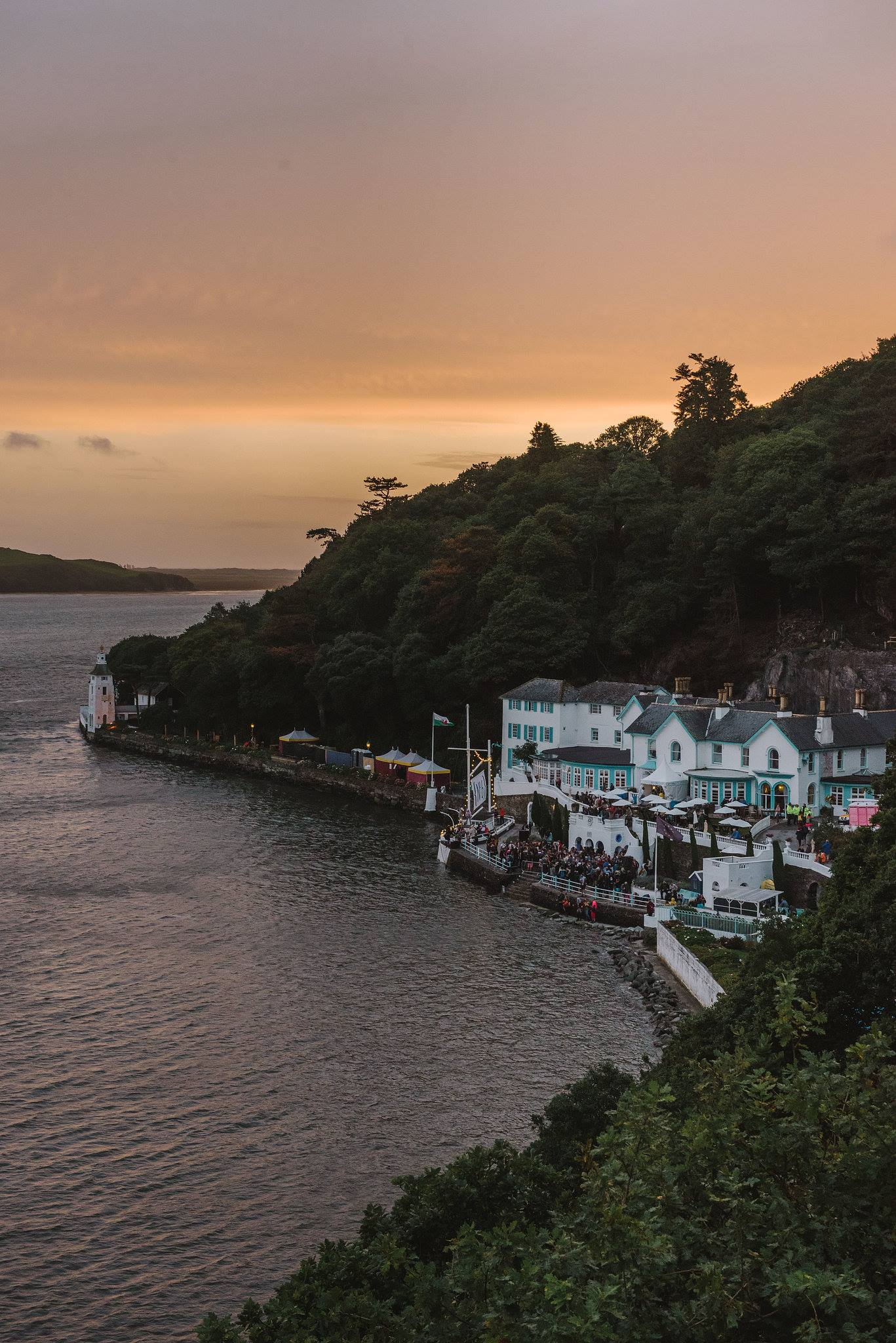 We're proud to call Portmeirion our home for the past seven years...