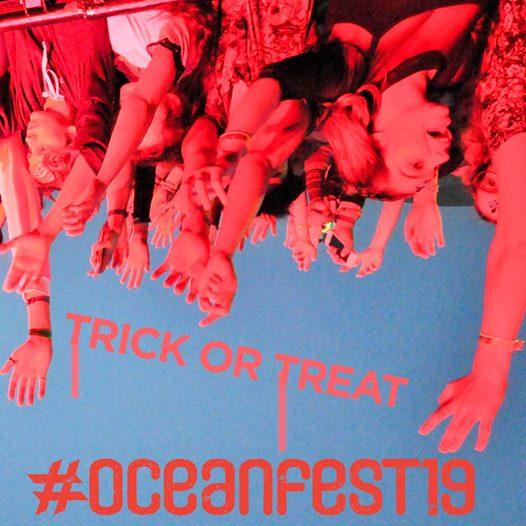 No tricks, just treats! #oceanfest19...