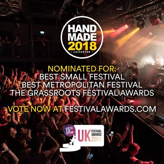 We're nominated for three awards at the UK Festival Awards! If you loved Handmad...