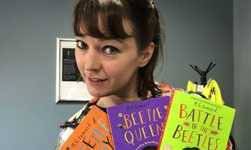 Beetle-loving author M. G. Leonard has given us some insight into writing childr...