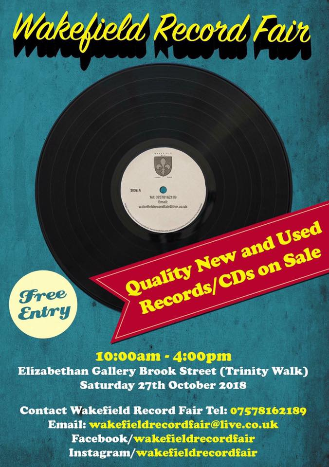 Wakefield Record Fair is taking place this Saturday. That's all you need to know...