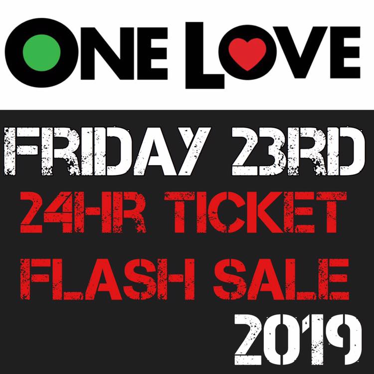 One Love Festival news: People Get Ready – A Big Festival promotion this Friday – who's excited already …
