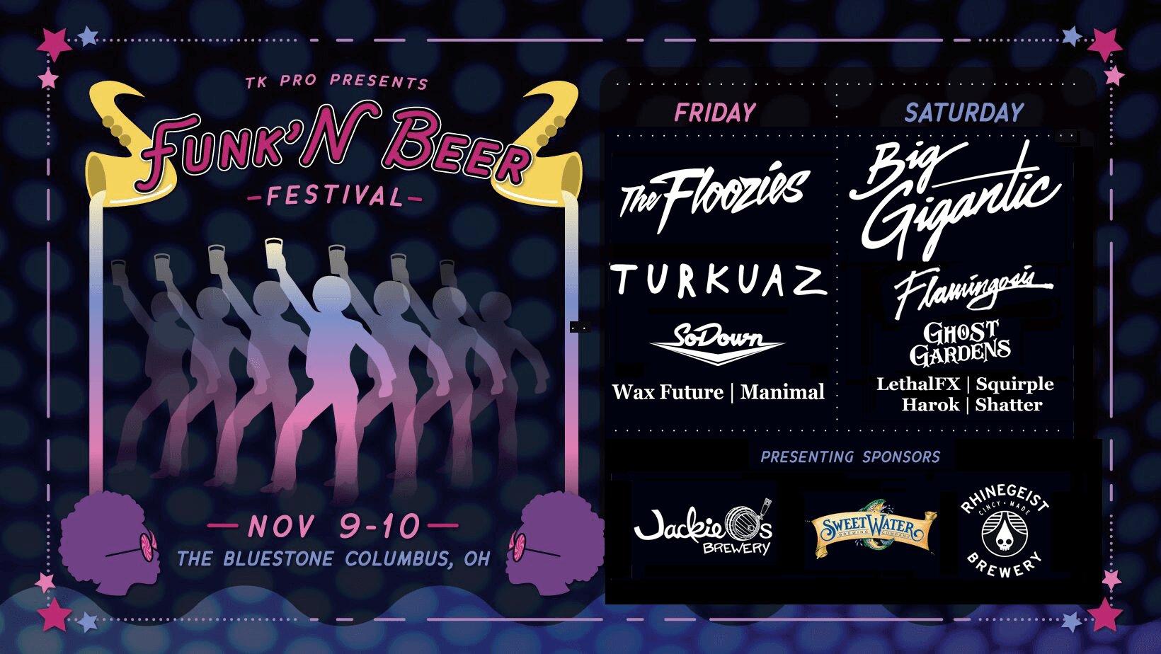 REDDIT FESTIVAL NEWS Funk'N Beer Fest in Columbus Ohio