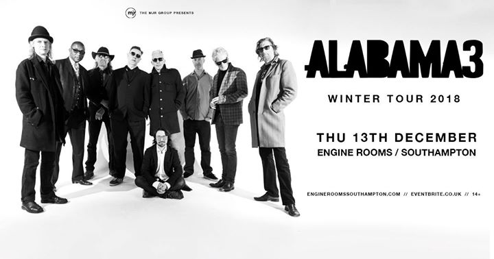 Alabama 3 at Engine Rooms | Southampton