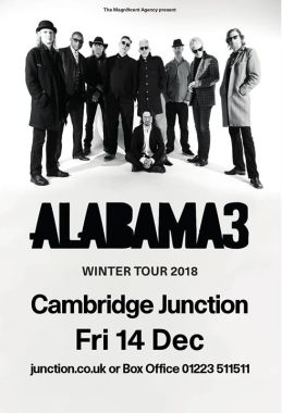 Alabama 3 at Cambridge Junction