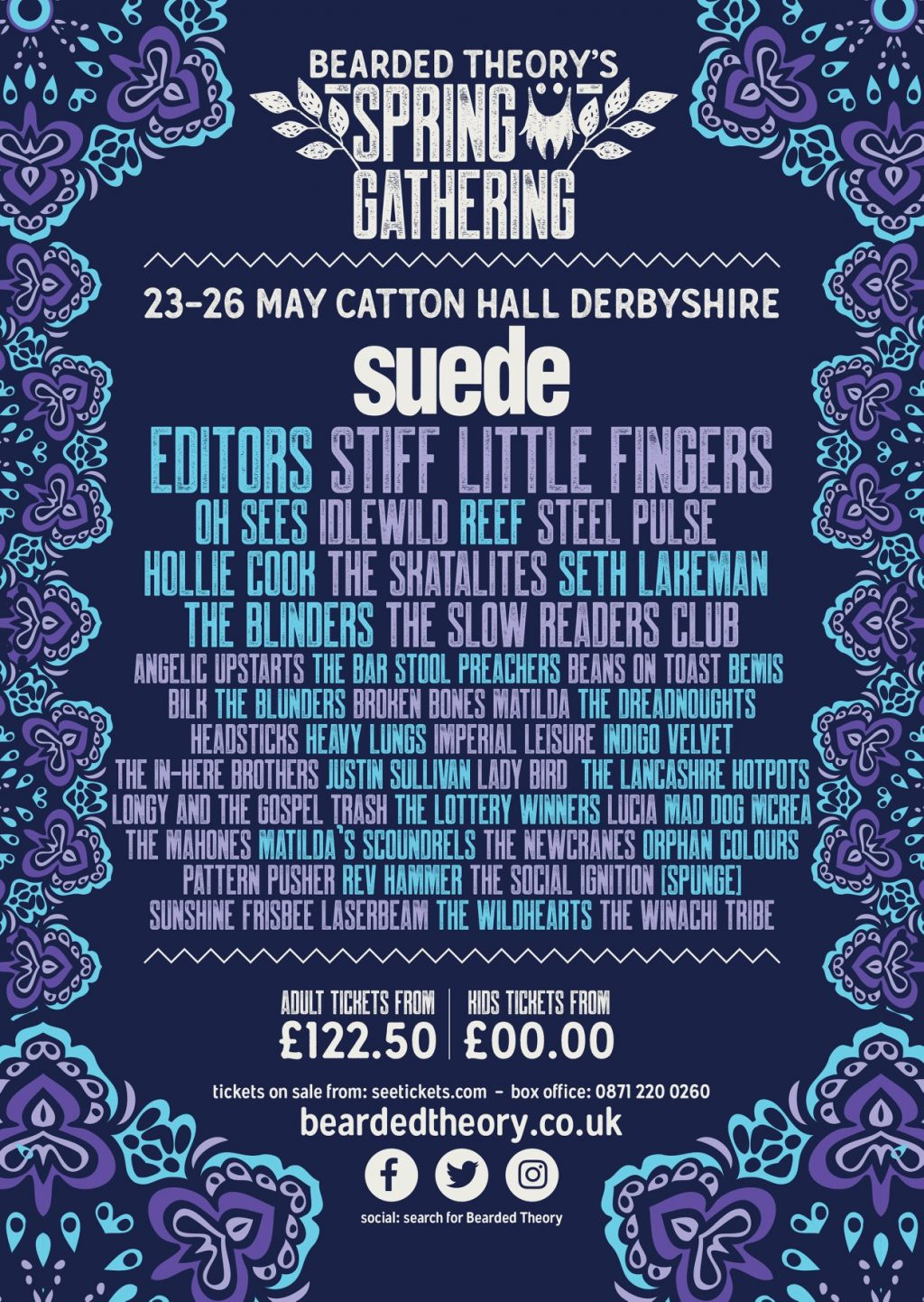 Bearded Theory news: 2ND LINE-UP ANNOUNCEMENT… | Festival Flyer
