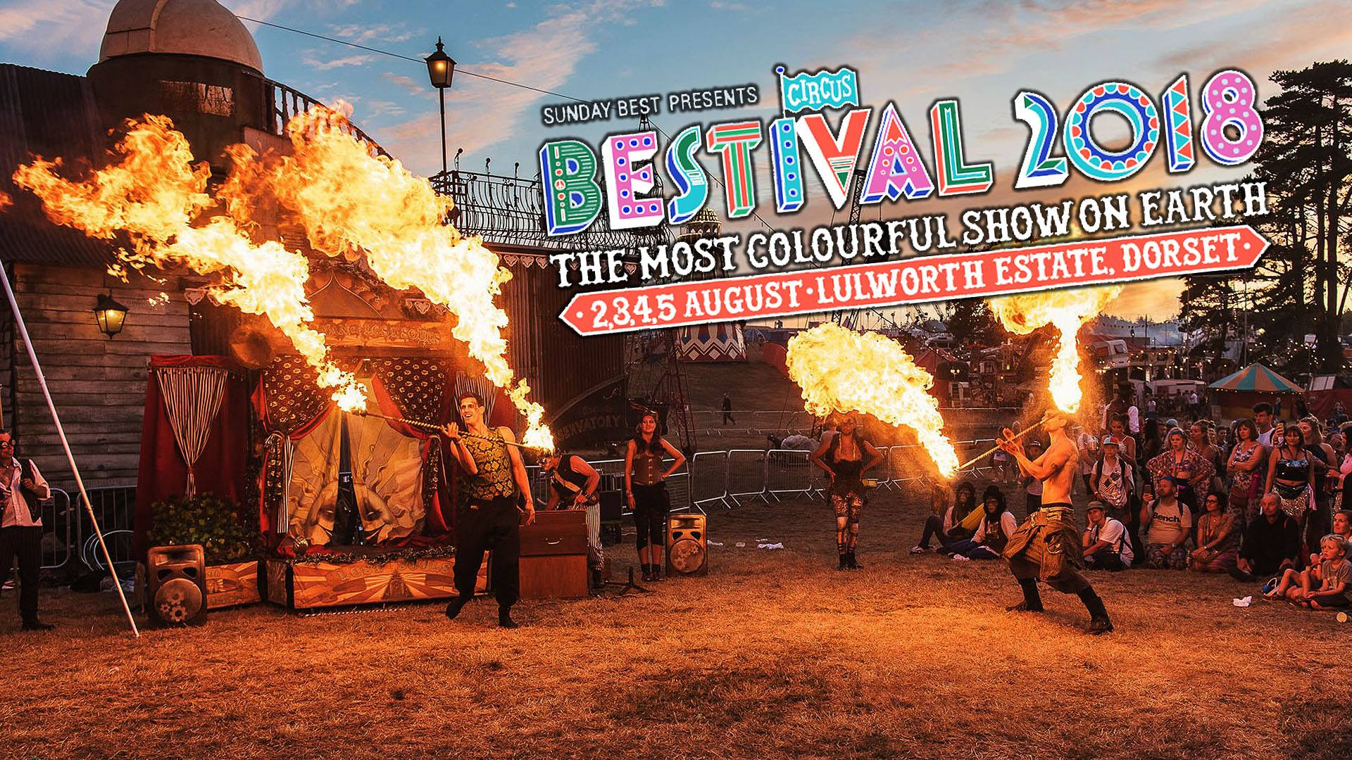 Bestival news:  BESTIVAL GOES CIRCUS!