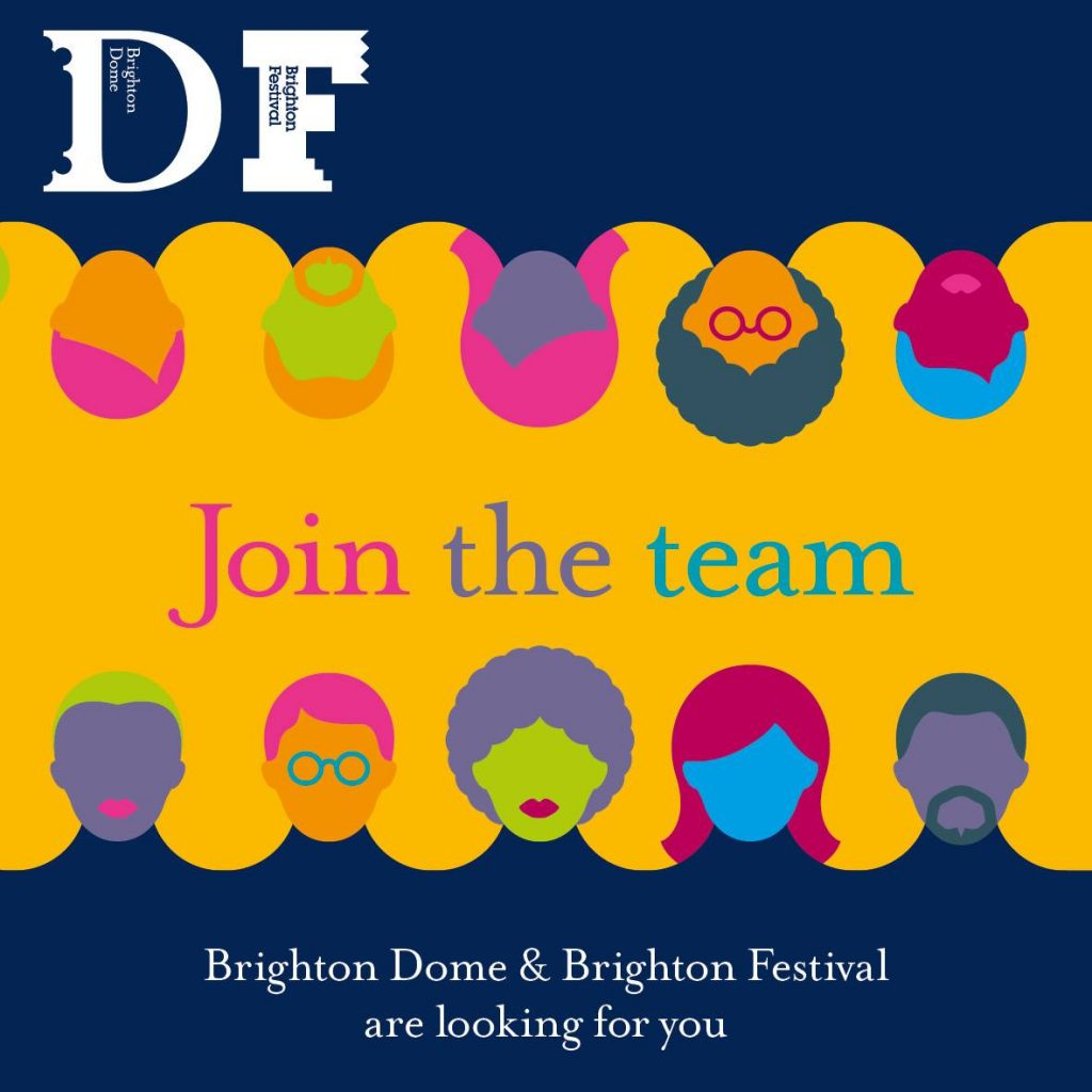 brighton festival news new year new job we believe that the arts can change lives and were looking f