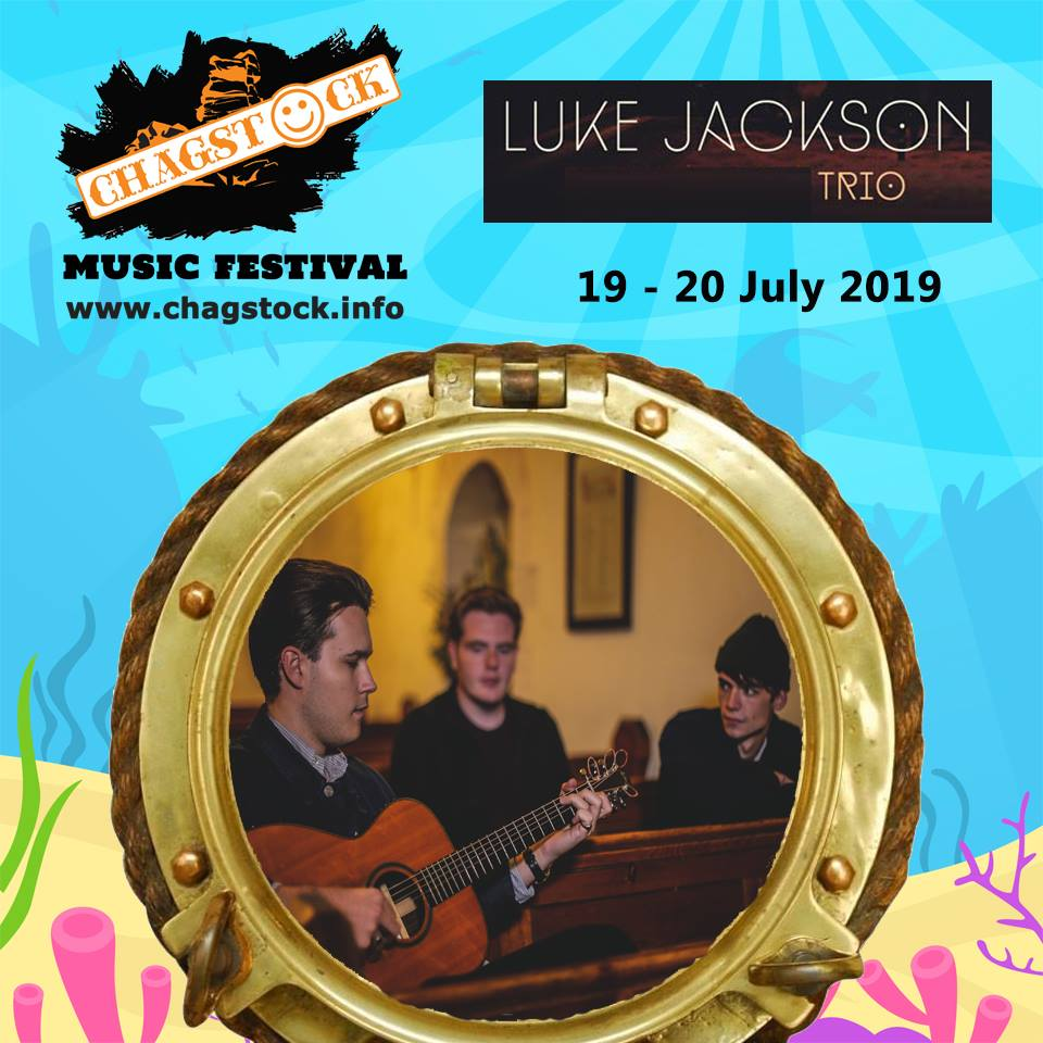 And another new act, the Luke Jackson Trio are confirmed to join the Chagstock 2...