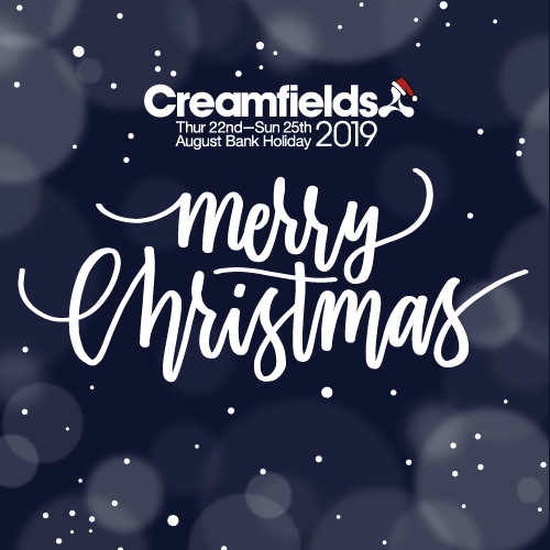 Merry Christmas, love from everyone at Creamfields HQ x
