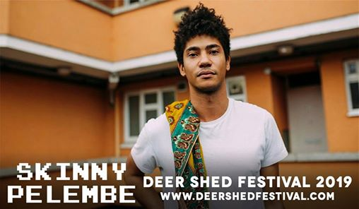 Newly announced #DeerShed10 artist Skinny Pelembe is live in session on BBC Radi...