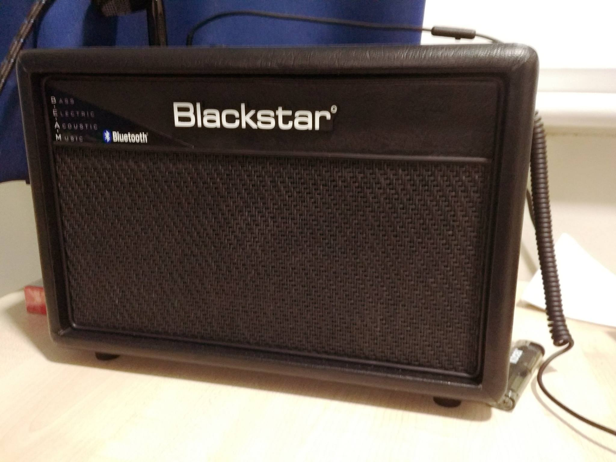 Hi! I am selling my Blackstar ID:Core BEAM 20W 2x3 Guitar Combo with Bluetooth C...