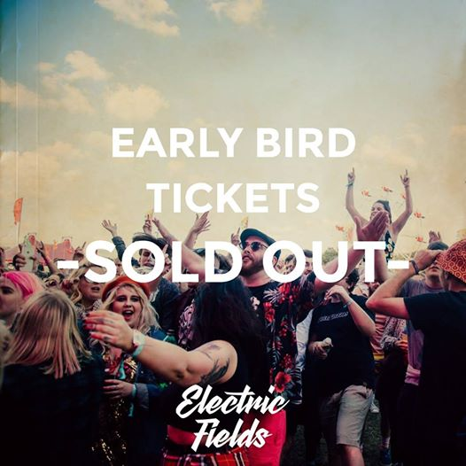 Early Birds are now SOLD OUT! That's 20% of all tickets gone in just a few ...