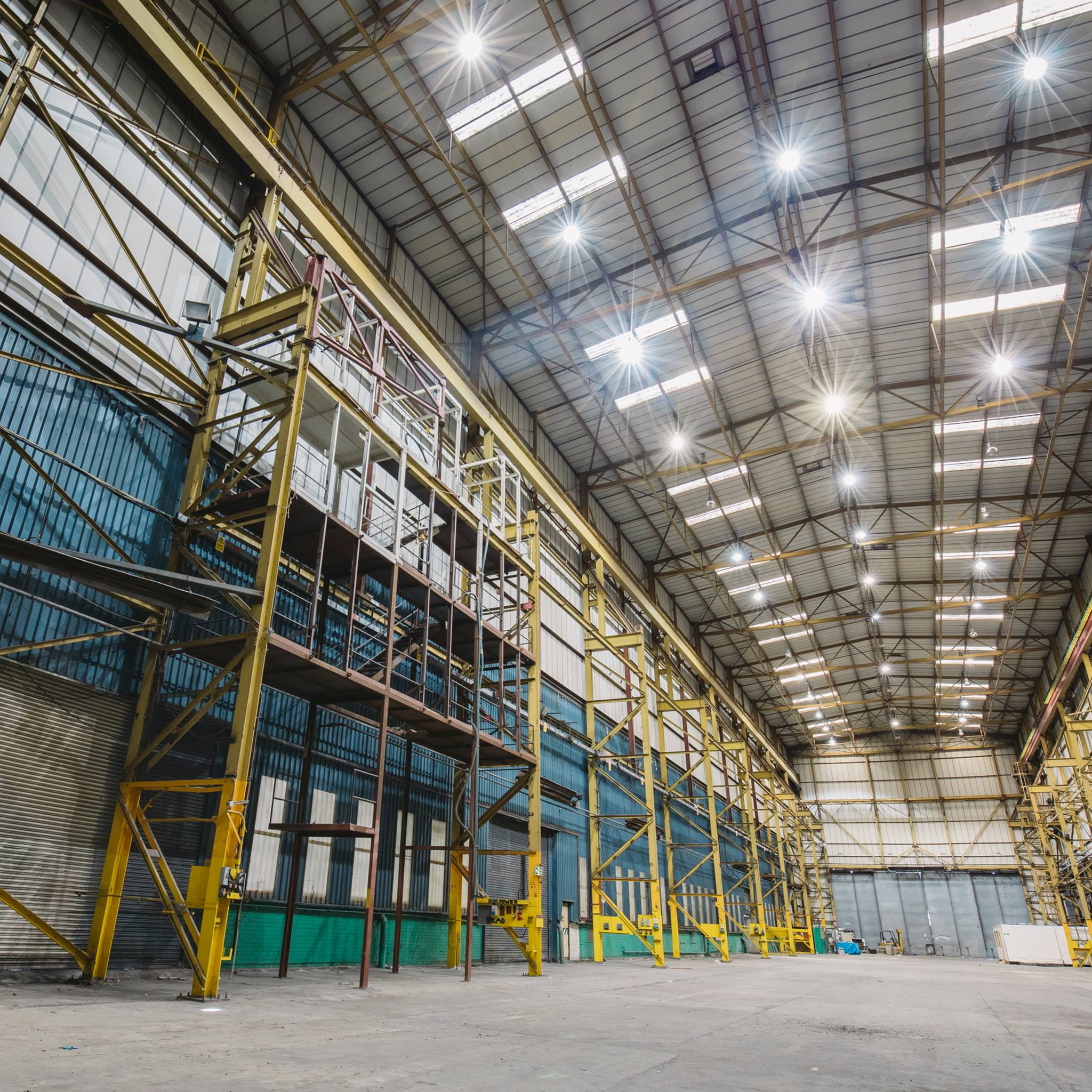 Our second stage and main indoor space will be the largest warehouse venue for m...
