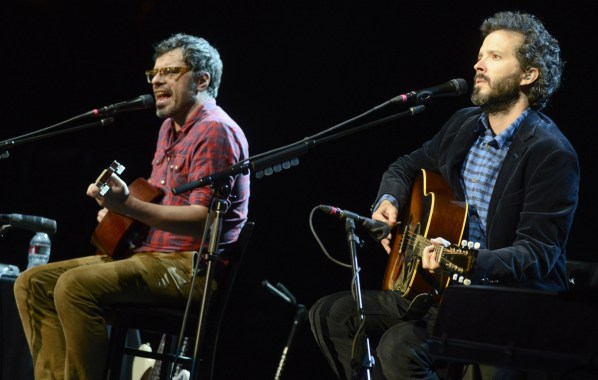 NME Festival blog: Flight of the Conchords release new 'Live in London' single, 'Father and Son'