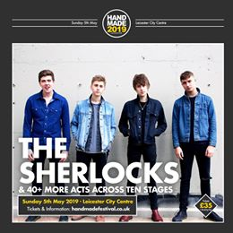 Excited to have The Sherlocks at Handmade 2019 appearing alongside 40+ more acts...