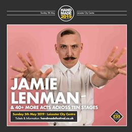 The mighty Jamie Lenman is joining us for Handmade alongside 40+ other acts over...