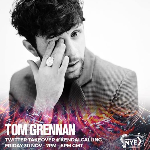 Ahead of Tom Grennan's final show this year at our HUGE New Year's Eve party, he...