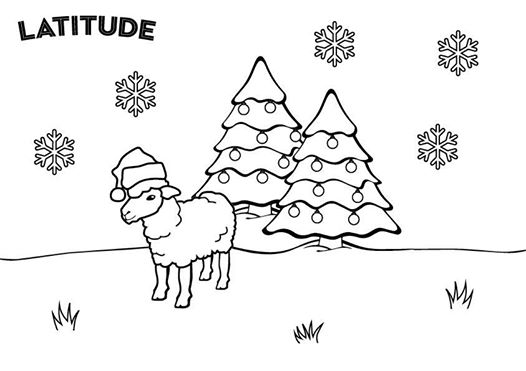 We've created some fantastically festive Latitude colouring pages to keep the ki...