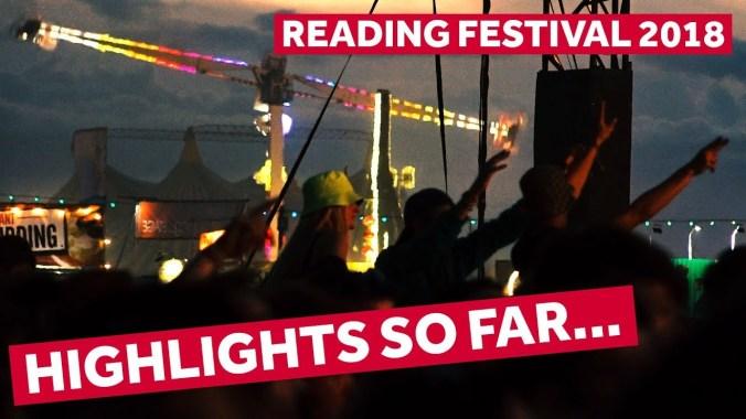 FESTIVAL HIGHLIGHTS: HIGHLIGHTS SO FAR | Reading Festival 2018 Backstage Pass