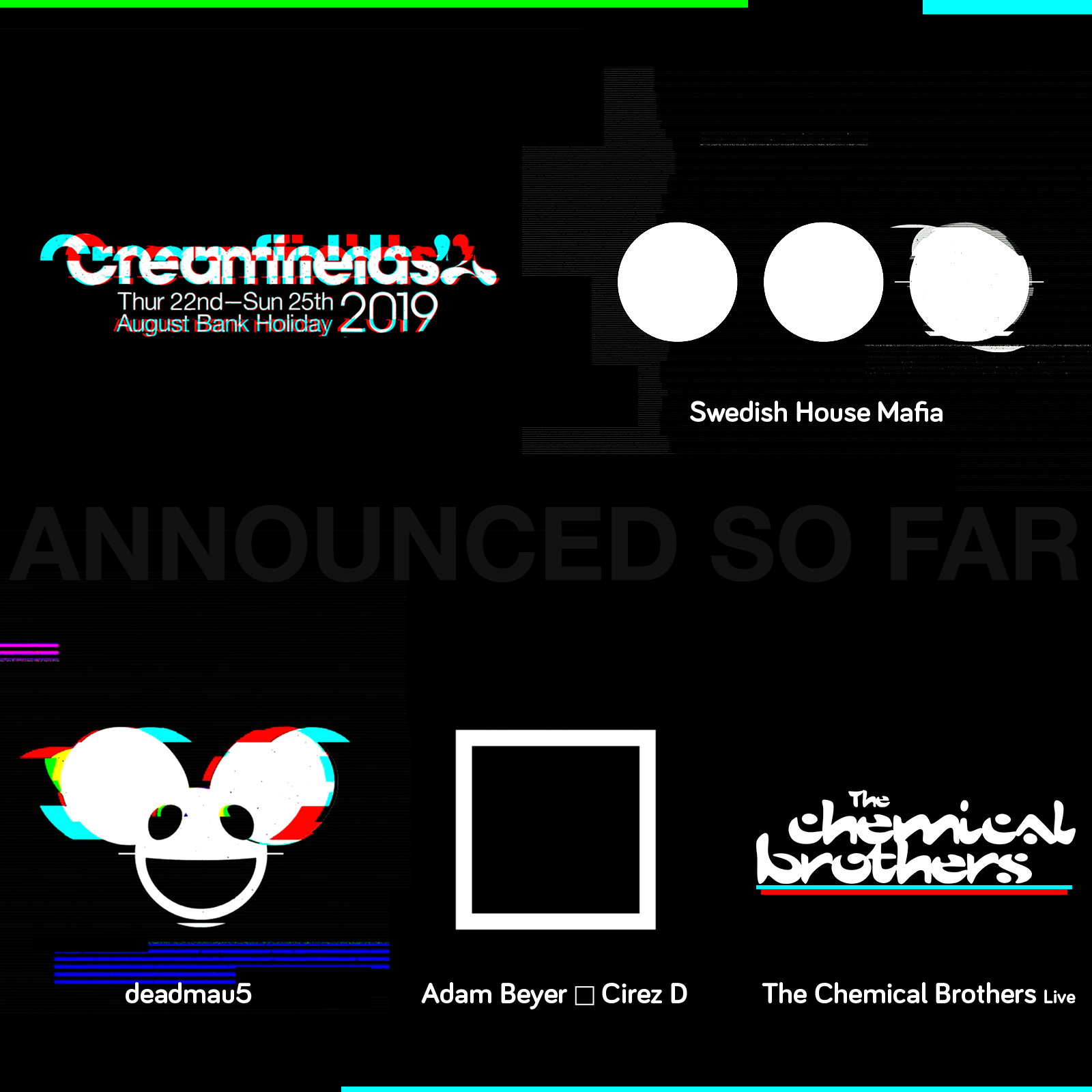 Wave 1 line up announcement coming next week, here is what is announced so far...
