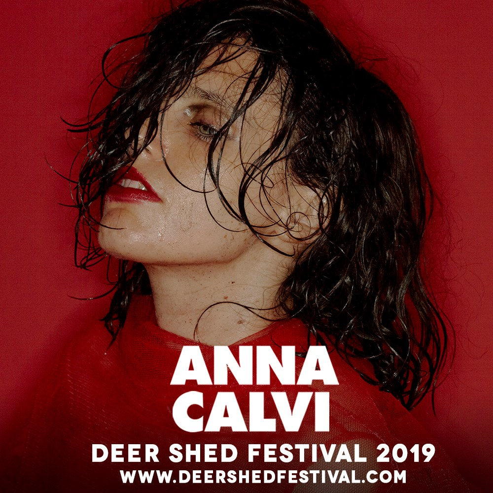 In exactly 195 days, we'll finally be watching the phenomenal Anna Calvi li...