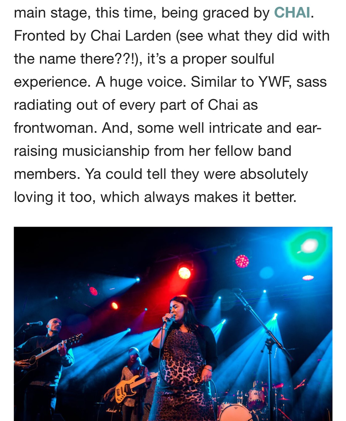 Nice review of one of our newbies for 2019...