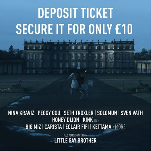 £10 DEPOSIT TICKET...