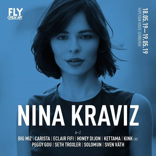The queen of techno Nina Kraviz will be joining us in the next edition of FLY Op...