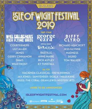 Festival Flyer Facebook news: Competition time – Isle of Wight Festival tickets….