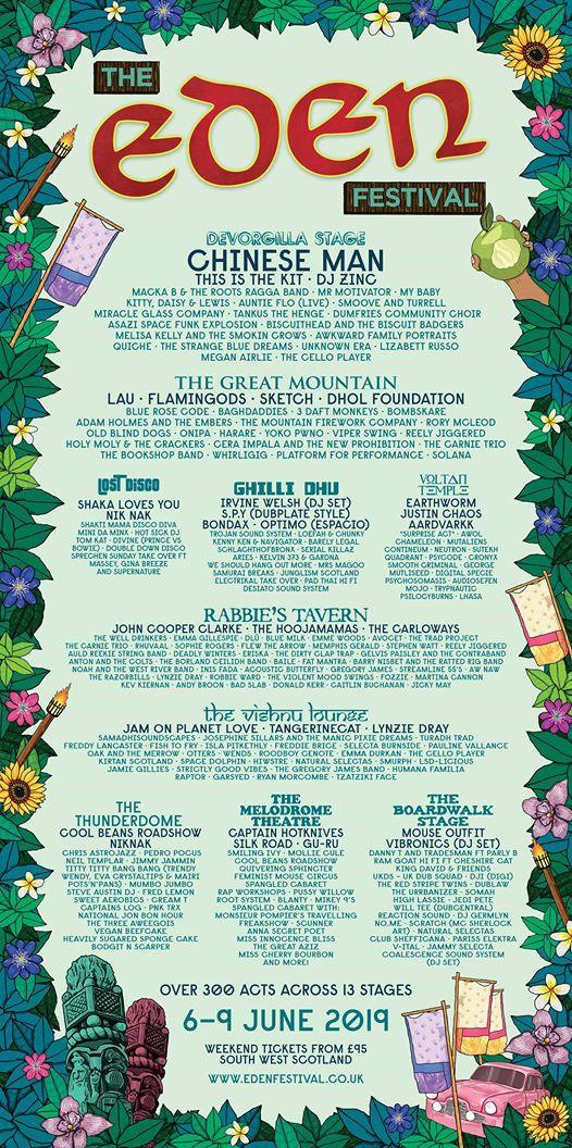 Festival Flyer Facebook news: Just when you were wondering