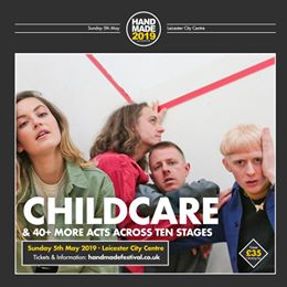 Absolutely delighted to have CHILDCARE joining us for Handmade 2019. See them an...