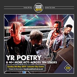 Old friends of Handmade, Yr Poetry are back for 2019! Catch them and 40+ other a...
