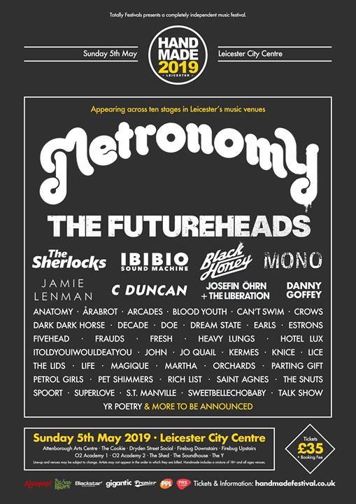Our second round of acts for Handmade 2019 is here! The Futureheads, MONO (Japan...