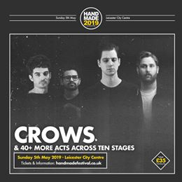 We can't wait for Crows at Handmade 2019. They play alongside 40+ other acts thr...