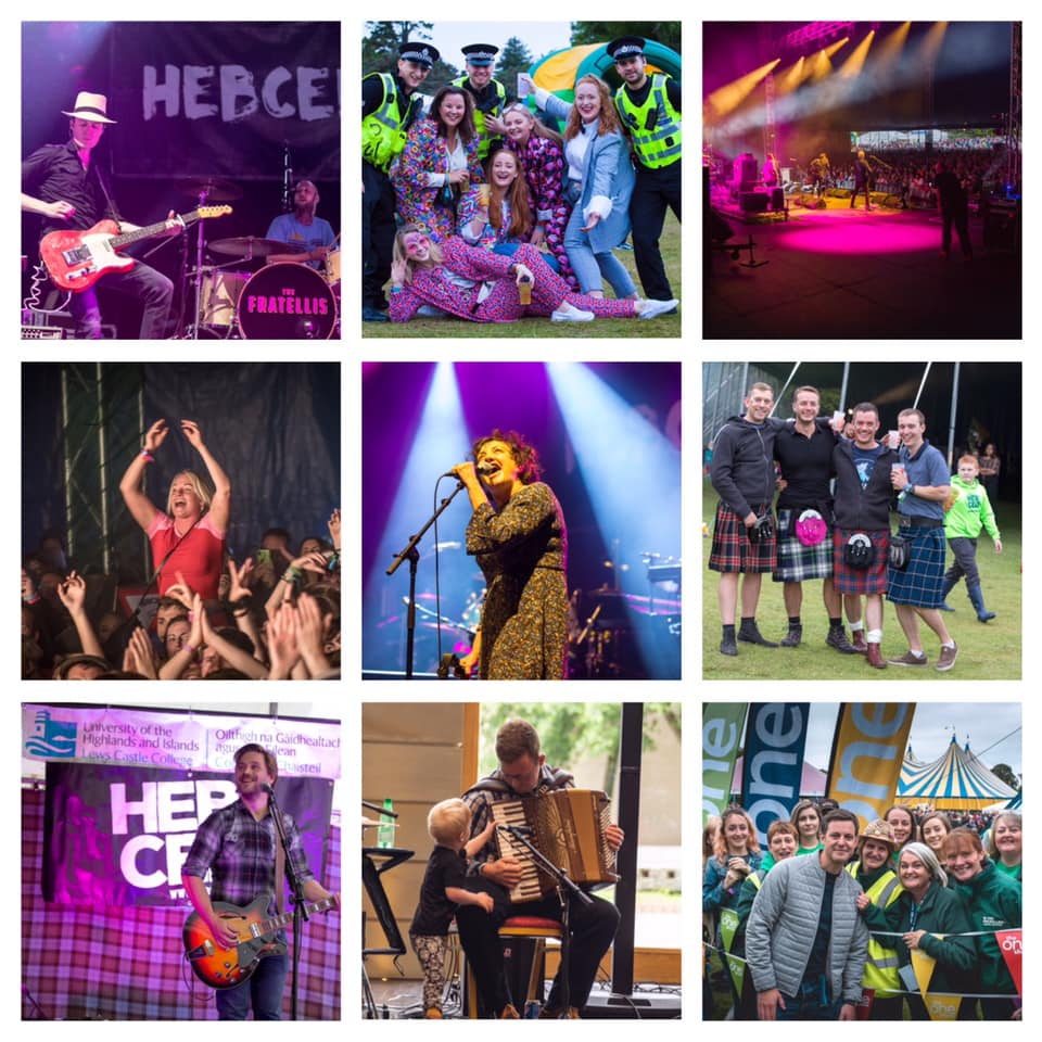 Have a very happy and safe new year. Thanks for making #HebCelt2018 so memorable...