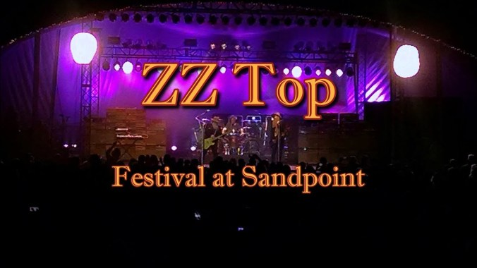 FESTIVAL HIGHLIGHTS: ZZ Top Festival At Sandpoint Highlights August 4th, 2018