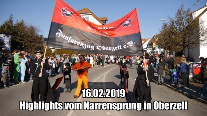 FESTIVAL HIGHLIGHTS: Highlights vom Narrensprung in Oberzell am 16.02.2019