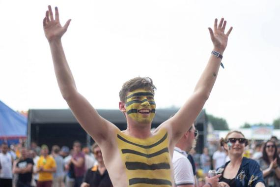 2000 Trees Festival news:  The fancy dress efforts at TREES are always awesome. Can't wait to see what you…