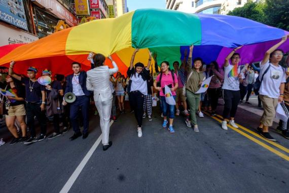 Brighton Pride news: Taiwan Proposes Asia's First Same-Sex Marriage Law