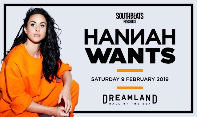 By the Sea news: Southbeats Presents Hannah Wants At Dreamland Margate