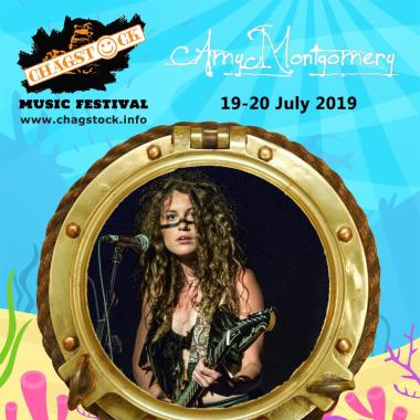 """Chagstock news : Amy Montgomery is confirmed for the main stage. """"Astounding voice. Amy is a grea…"""