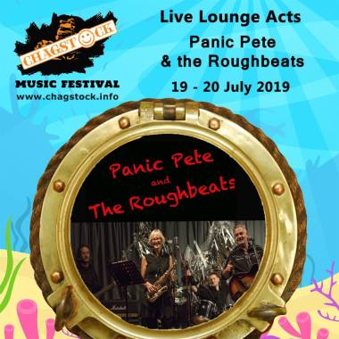 Chagstock news : Another Live Lounge act confirmed. Panic Pete and the Roughbeats Chagfords very …