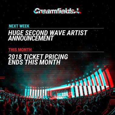 Creamfields news : Huge Second Wave Artist announcement incoming next week!…