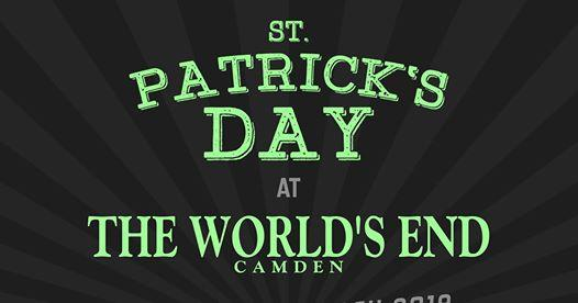 Festival Flyer Facebook news: St Patrick's Day feat. NECK at The World's End Camden
