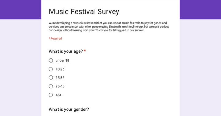 REDDIT FESTIVAL NEWS take this survey to enhance your festival experience