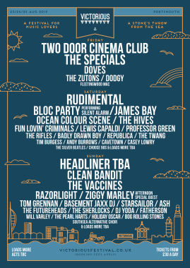VICTORIOUS FESTIVAL REVEALS SECOND WAVE OF LINE-UP