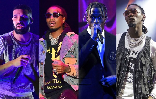 NME Festival blog: Watch Drake, Quavo, and Offset join Travis Scott on stage at LA show