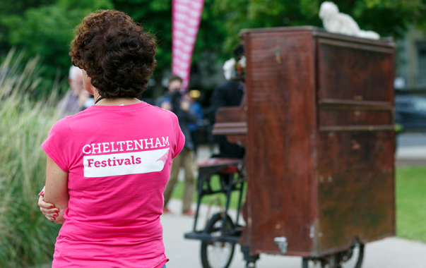 Cheltenham Festivals news : Volunteering at Cheltenham Music Festival 2019 – Cheltenham Festivals